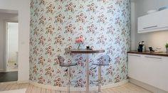 Beautiful bright kitchen from Swedish designer
