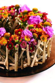JustChrys - Inspiratie: verrassende chrysanten arrangementen voor de slimme en creatieve bloemist!
