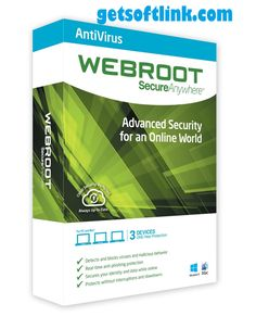 Webroot SecureAnywhere Antivirus Crack With Serial Key Free download from here and yu can also get much more softwares with crack...