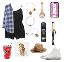 """""""Unique for a day"""" by mira-81k ❤ liked on Polyvore featuring MINKPINK, Madewell, Converse, Alex and Ani, Forever 21, Beats by Dr. Dre, PRO Beauty Tools, TRESemmé and rag & bone"""