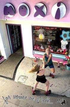 I bought my cute Moxie skates here.