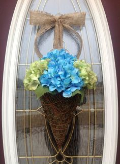 Spring Wreath Easter Wreath Summer by AnExtraordinaryGift on Etsy