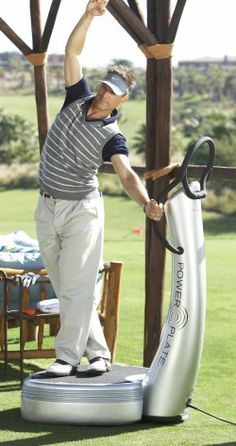 Power Plate whole body vibration training is a powerful tool for golfers who can perform precise, targeted exercises to help them hit the ball further and play longer, without pain. Many professional golfers are known to use Power Plate to improve their game including UK elite players Colin Montgomerie, Lee Westwood, Nick Dougherty and Laura Davies.