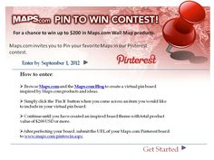 Pin to Win Contest!