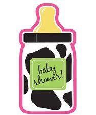 Barnyard Baby Girl Baby Shower Invitations