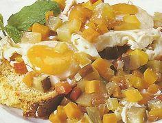 Ovos Escalfados com Legumes