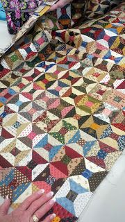 Woolie Mammoth: Quilting Mojo / scrappy spools