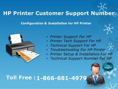 Looking Customer service for HP Printer? If you have reached the right hp printer #help #desk We hold a #team of experienced and #certified technicians, who can setup, configure and #troubleshoot HP Printer #Support as per your #requirement on any computer devices running on any operating system. toll free 1-866-681-4979. Read more : https://goo.gl/qiDhN6