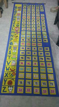 Escola Numbers Preschool, Preschool Games, Learning Activities, Kids Learning, Activities For Kids, Classroom Themes, Classroom Organization, Classroom Activities, English Phonetic Alphabet