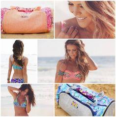 Exclusive Tone It Up ☀ Bikinis & Duffel Bags by Maaji! www.BeachBabe.com
