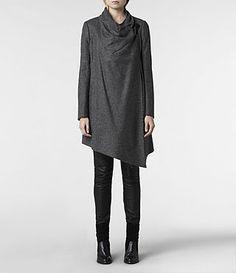 AllSaints Damen Mäntel & Jacken | Trench, Parkas & Macs #stunningcoat #puredesign #cooldesign #eytraordinary