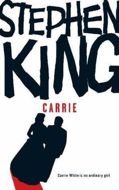 Stephen King's 'Carrie' First Stephen King book I read. Stephen Kings, Carrie Stephen King, Stephen King Books, Book Club Books, Books To Read, My Books, Carry On Book, Memoir Writing, Adventure Novels
