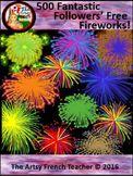 Fireworks / Feux d'Artifice - 500 Fantastic Followers Freebie