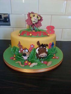 Hakuna Matata - by GazsCakery @ CakesDecor.com - cake decorating website