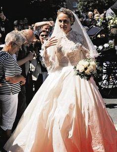 21 Juin 2007 : mariage de Elna Margret et du prince Carl-Ferdinand de Bentheim-Steinfurt .