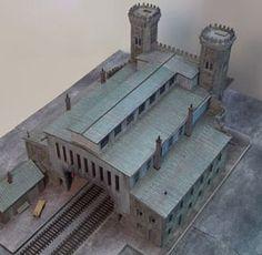 Model of Salem Train Station