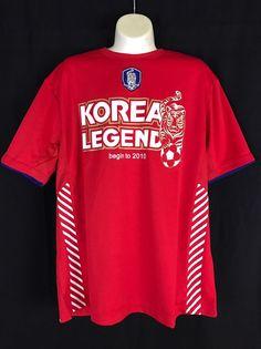 NWT KFA Official Korean Legends Men's Soccer Jersey, Size 100 (US Medium)  #KFA #koreanLegend