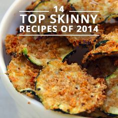 14 Top Skinny Recipes of 2014. I love the Lemon Detox Drink & Slow Cooker Chicken Chili. #delicious #recipes