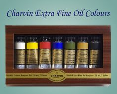 WOW, Charvin from Jerry's Artarama...my dream come true..the best oil paints ever!