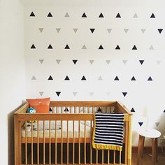 * Images show triangles that are 3 in by 3.5 in. Want a fast way to make a huge visual impact on your walls? Our vinyl triangle decals is your ticket. Each triangle measures approximately 3 tall by 3.5 wide These vinyl triangles give the look of a high end paint job and work on walls, appliances or wooden furniture such as dressers or desks. Choose from the colors we have available. Comes in a set of 99 stickers. Order extra sets for a big discount. Our sticker material is so thin that i...