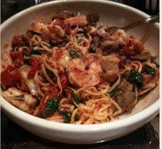 Carrabba's Italian Grill Copycat Recipes: Pasta Sostanza