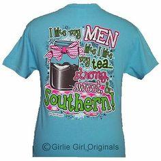 Girlie Girl Originals Southern Sky Blue Adult Unisex Fit Short Sleeve T Shirt | eBay