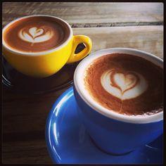 Espresso latte coffee cafe podgy banker flat white