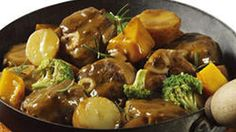 Lamb Knuckle and Vegetable Hot Pot