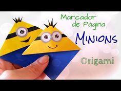 Marcador de Página Minions - Origami Bookmark - YouTube