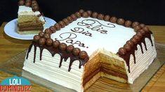 Chocolate Cake Designs, Chocolate Desserts, Spanish Desserts, Fathers Day Cake, Red Velvet Cupcakes, No Bake Cake, Cupcake Cakes, Cake Decorating, Sweets