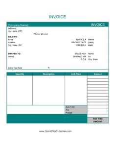 download this blank invoice template for microsoft word now free cashboard app pinterest. Black Bedroom Furniture Sets. Home Design Ideas