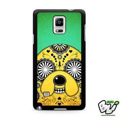 Adventure Time Sugar Skull Samsung Galaxy Note 4 Case