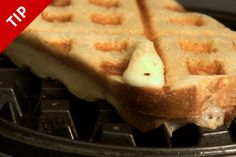3 Unexpected Uses for Your Waffle Maker -- make hash browns, french toast, and grilled cheese!