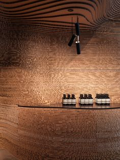 Launched eight years ago, the Aesop store on Melbourne\& Flinders Lane was one of the brand\& first to open and help cement the brand\& reputation for innovative store design. Commercial Interior Design, Shop Interior Design, Commercial Interiors, Retail Store Design, Retail Shop, Design Blog, Visual Merchandising, Aesop Shop, Arquitetura