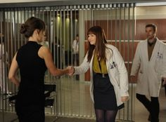 Still of Jesse Spencer, Amber Tamblyn and Olivia Wilde in House M.D. (2004)