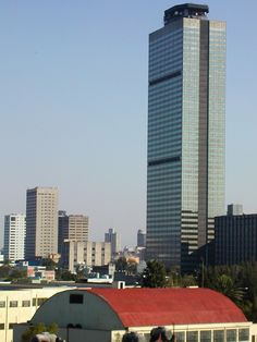Torre Mayor PEMEX Mexico´s 2nd Tallest Building