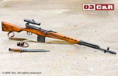 Z78708 Russian SVT 40 7.62x54R Sniper Rilfe
