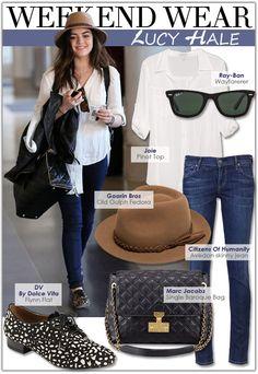 Weekend Wear: Lucy Hale