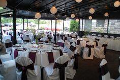 Gandy Dancer wedding reception in Ann Arbor, MI coordinated by TwoFoot Creative