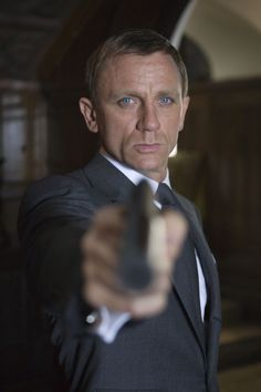 Daniel Craig is James Bond (2006 to present).