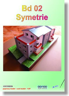 Papírový model - Bd 02 Symetrie