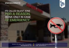 Don't be an outlaw and go about breaking the rules.  #NoiseAnnoys