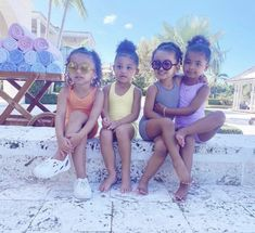Jenner Kids, Jenner Family, Kardashian Jenner, Kylie Jenner, Kardashian Family, Mc Eiht, Kylie Travis, Cute Kids Fashion, Black Kids