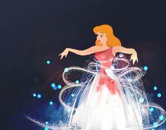 Walt Disney's favorite piece of animation was Cinderella's transformation.