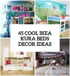 45 Cool IKEA Kura Beds Ideas For Your Kids' Rooms