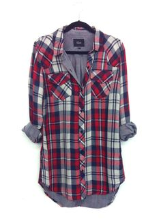I absolutely love this flannel! Would be perfect for me