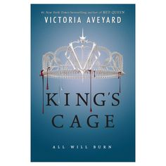 King's Cage (Red Queen Series #3) (Exclusive Poster) by Victoria Aveyard
