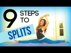 How to Do the Splits in One Day. Doing the splits requires flexible hips. By stretching extensively and regularly you can gain the necessary flexibility to achieve the splits position. Depending on the amount of time you devote to. Stretches For Flexibility, Flexibility Workout, Splits Stretches, Flexibility Challenge, Stretching Workouts, Workout Splits, Pop Pilates, Pilates Video, Pilates Yoga