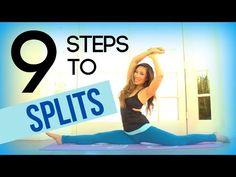 9 Steps to doing the Splits! - YouTube