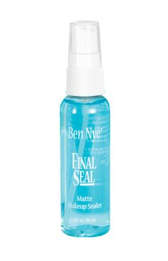 $6.99 Ben Nye - Final Seal Apply over any completed makeup for a smudge and water-resistant finish. Final Seal keeps makeup in place even on performers who perspire heavily.